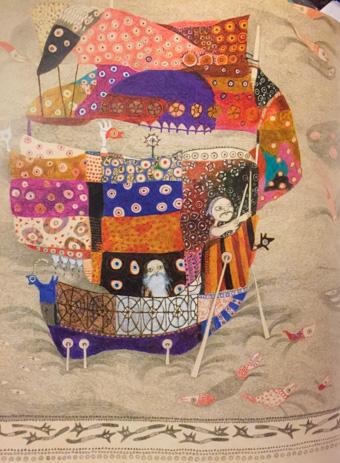 595cf815c4673b 日暮里の商店街のはずれにある某ギャラリーで開かれていた絵本展では、彼女がこれまでに手がけた作品がずらりとならび、来場者の皆さんが個性溢れる絵本を次々に手  ...